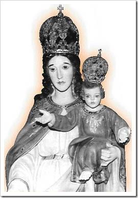 Imagem da Nossa Senhora da Glória