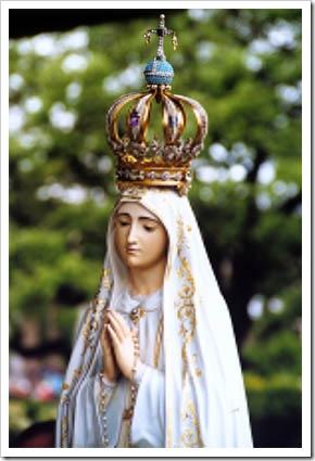Imagem da Nossa Senhora de Fátima