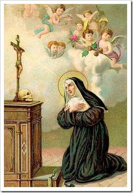 Imagem de Santa Rita de Cássia